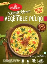 Vegetable Pulao (Vegan) HR 10x200g