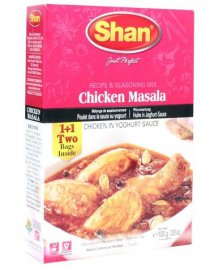 Chicken Curry kryddmix Shan PROMO 6x100g