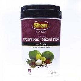 Hyderabadi Pickle Shan 6x1 Kg
