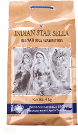 Indian Star Basmatiris SELLA 4x5 Kg