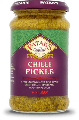 Inlagd chili Patak 6x283g