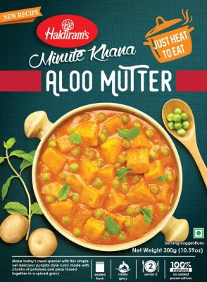 Aloo Mutter (vegansk) HR 10x300g