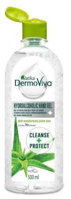 Handdesinfektion gel Aloe Vera Dermoviva 4x500ml