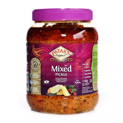 Mixed Pickles Patak 2x2,3 Kg